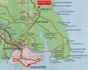 map of Mawai